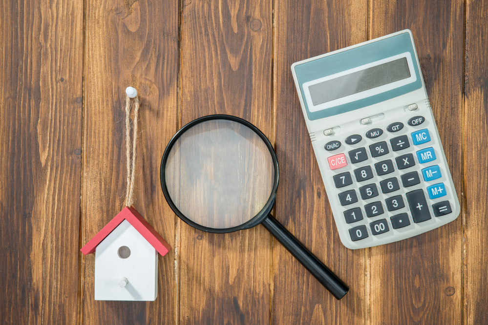buy house Mortgage calculations, calculator with Magnifier Searching